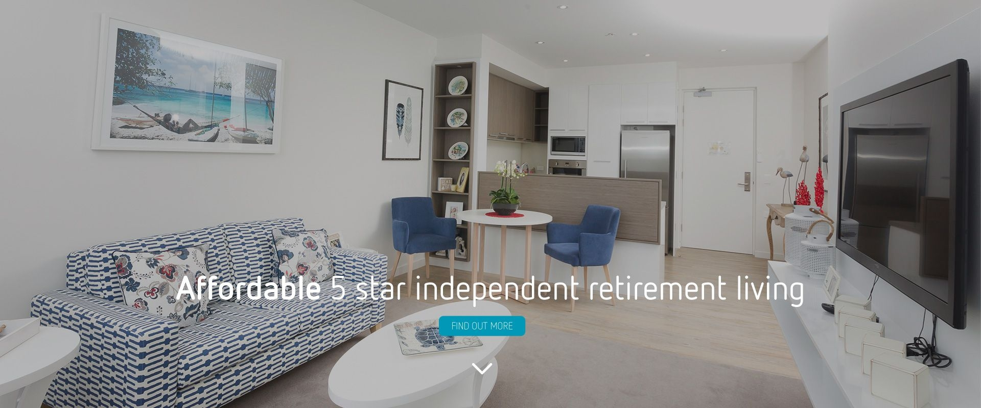 Affordable 5 star independent retirement living